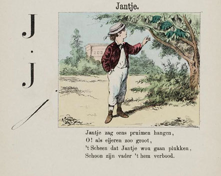 Jantje zag eens pruimen hangen - Belgian Children's Songs - Belgium - Mama Lisa's World: Children's Songs and Rhymes from Around the World, Intro Image