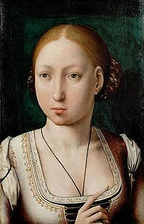 Painting of Joanna of Castile