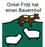 Onkel Fritz hat einen Bauernhof - Chansons enfantines allemandes - Allemagne - Mama Lisa's World en français: Comptines et chansons pour les enfants du monde entier  - Intro Image