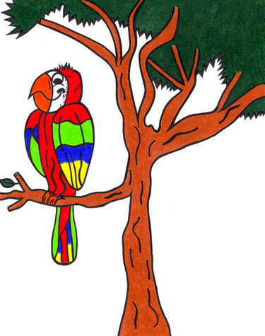 The Parrot is on the Custard-Apple Tree - Bangladeshi Children's Songs - Bangladesh - Mama Lisa's World: Children's Songs and Rhymes from Around the World  - Intro Image