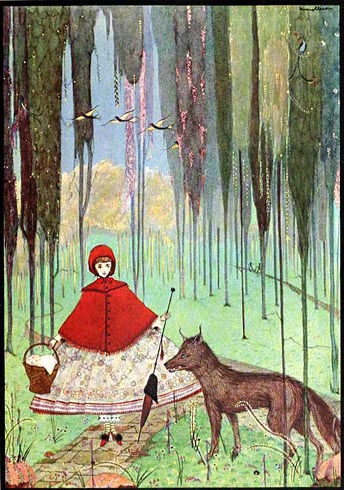 Le Petit Chaperon Rouge - Chansons enfantines françaises - France - Mama Lisa's World en français: Comptines et chansons pour les enfants du monde entier  - Intro Image