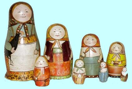 Хожу-брожу, матрешку держу  - Chansons enfantines russes  - Russie - Mama Lisa's World en français: Comptines et chansons pour les enfants du monde entier  - Intro Image