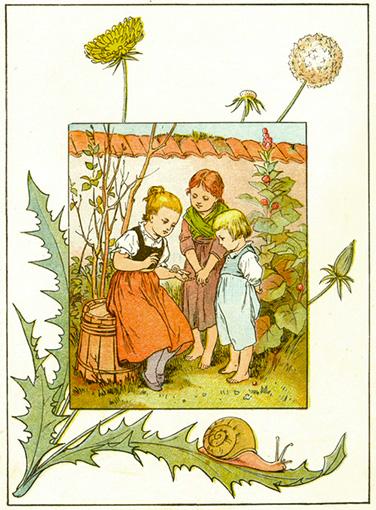 Ich bin 'ne kleine Schnecke - Chansons enfantines allemandes - Allemagne - Mama Lisa's World en français: Comptines et chansons pour les enfants du monde entier  - Intro Image