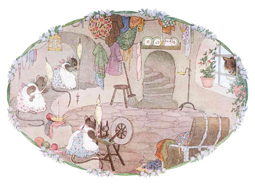 Some Little Mice Sat in a Barn to Spin - English Children's Songs - England - Mama Lisa's World: Children's Songs and Rhymes from Around the World  - Comment After Song Image
