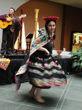 Valicha - Quechua Children's Songs - Quechua - Mama Lisa's World: Children's Songs and Rhymes from Around the World  - Intro Image