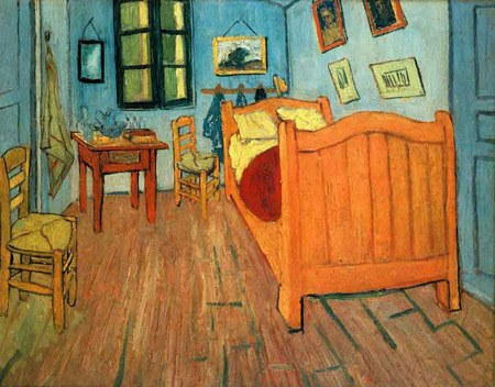 Van Gogh's Painting of His Bedroom in Arles