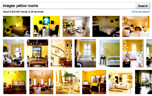 Photos of Yellow Rooms
