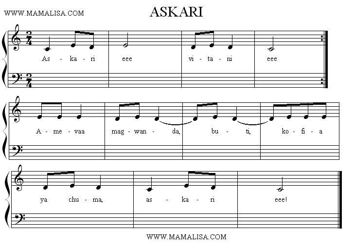 Partitura - Askari