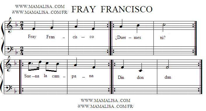 Sheet Music - Fray Francisco