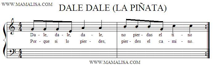 Partition musicale - Cantos para romper la piñata