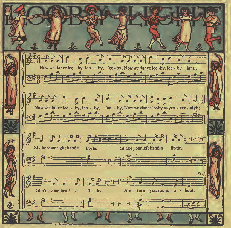Sheet Music - Now We Dance Looby, Looby
