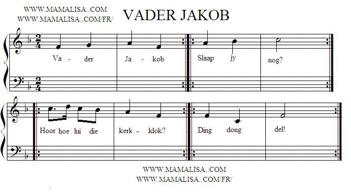 Vader Jakob South African Childrens Songs South Africa Mama